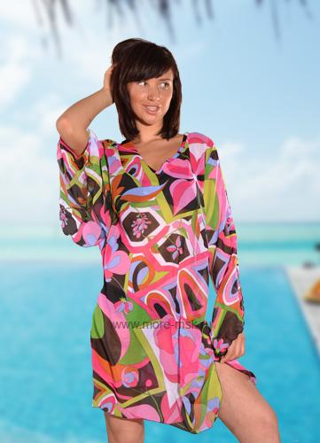 Как сшить пляжное платье трансформер